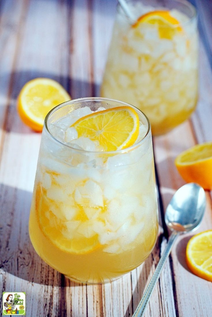 Meyer Lemon Shrub Drink Recipe