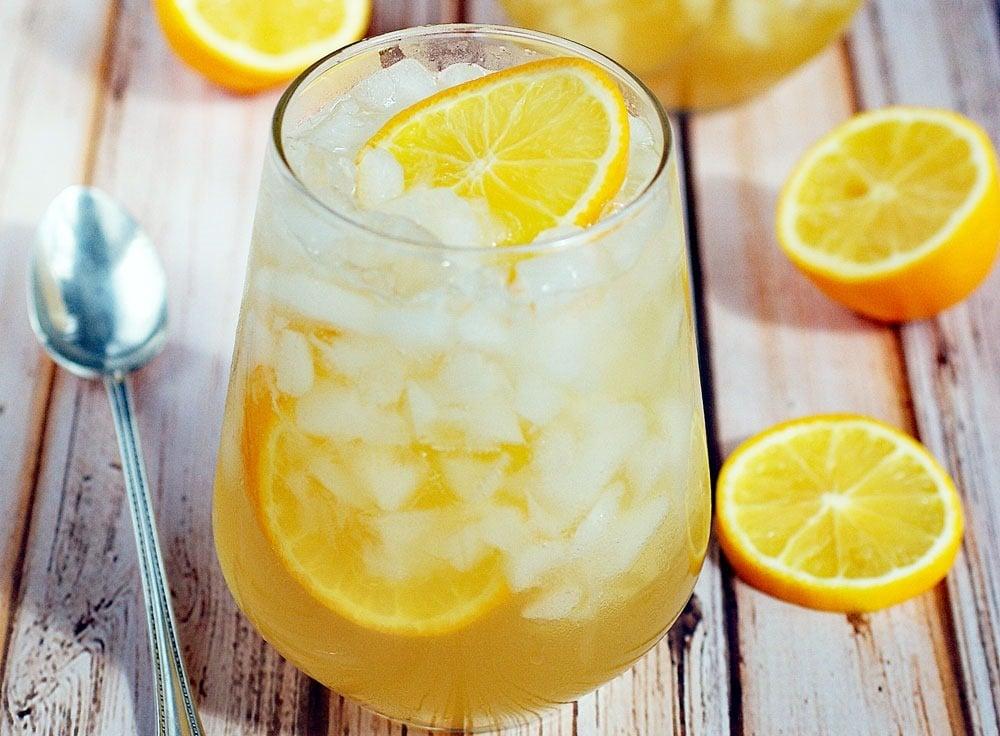 Got lemons? Try this Meyer lemon shrub drink recipe!