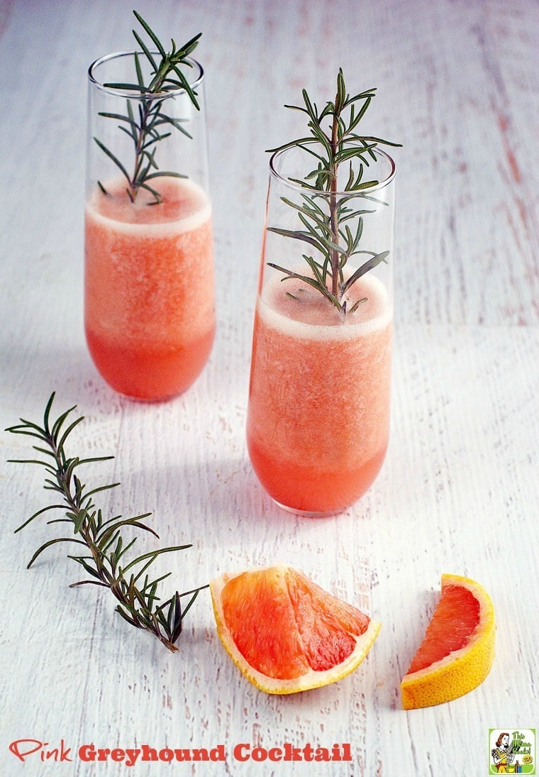 Make this Pink Greyhound Cocktail recipe for your next party. Click to ...