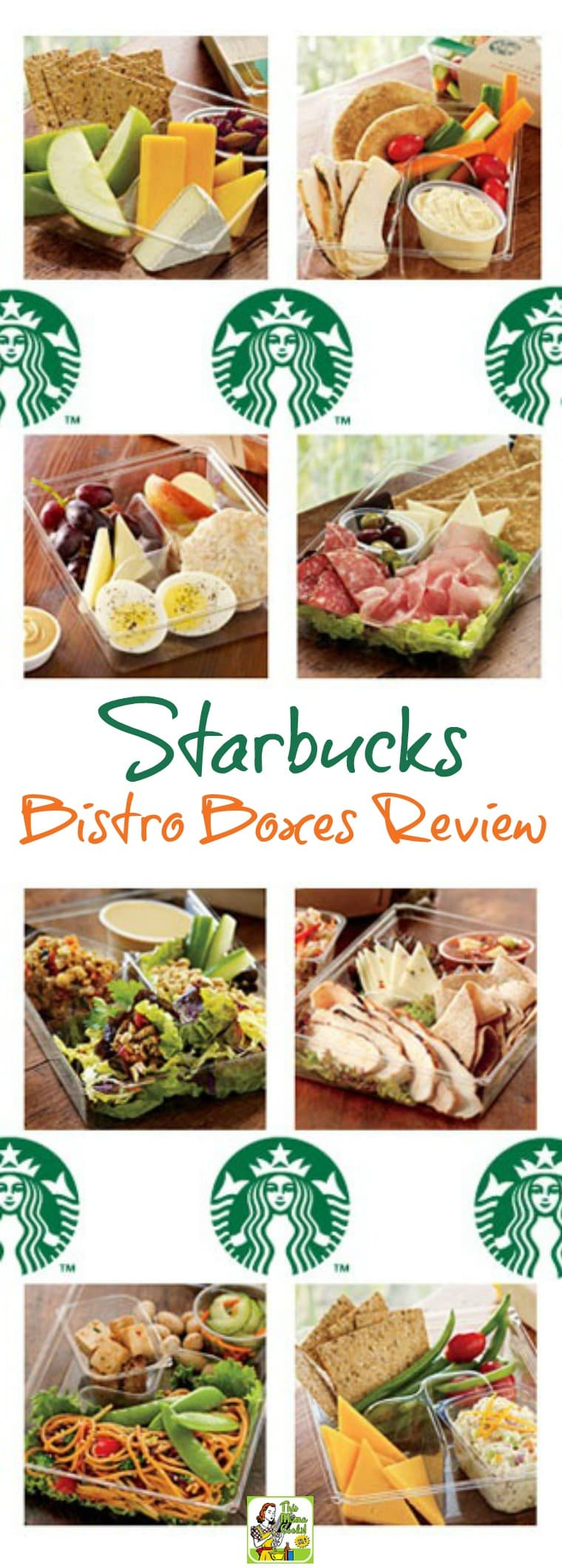 Starbucks Bistro Boxes Review. Includes a breakdown of Starbucks bistro box nutrition. #starbucks #reviews #lunch