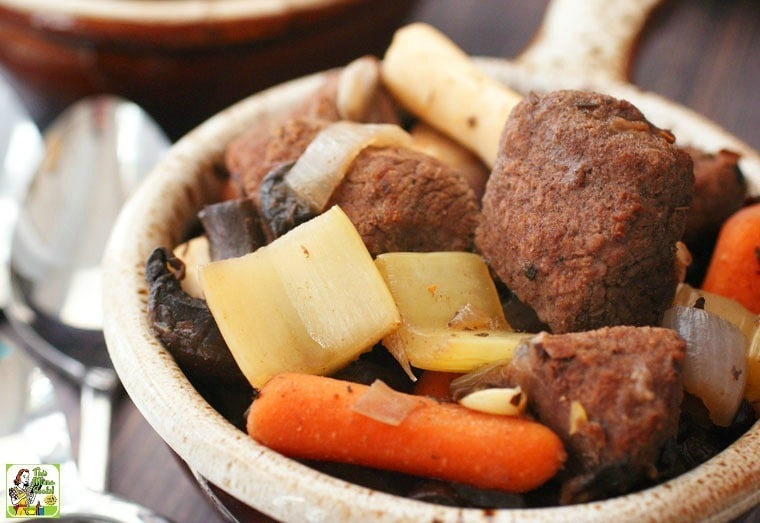 Slow Cooker Juniper Venison Stew