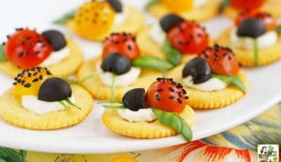 Caprese Ladybugs Appetizer Recipe