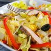 How to Make an Easy Chicken Fajita Salad