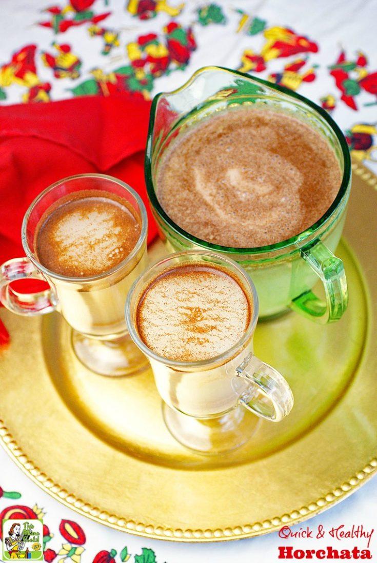 Quick & Healthy Horchata Recipe