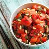 Serve this Asian Watermelon Salad at your next cookout