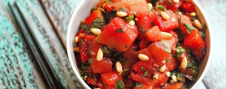 Asian Watermelon Salad recipe