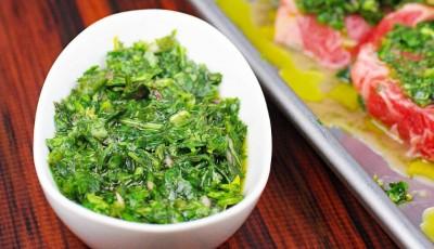 Chimichurri Marinade and Sauce Recipe