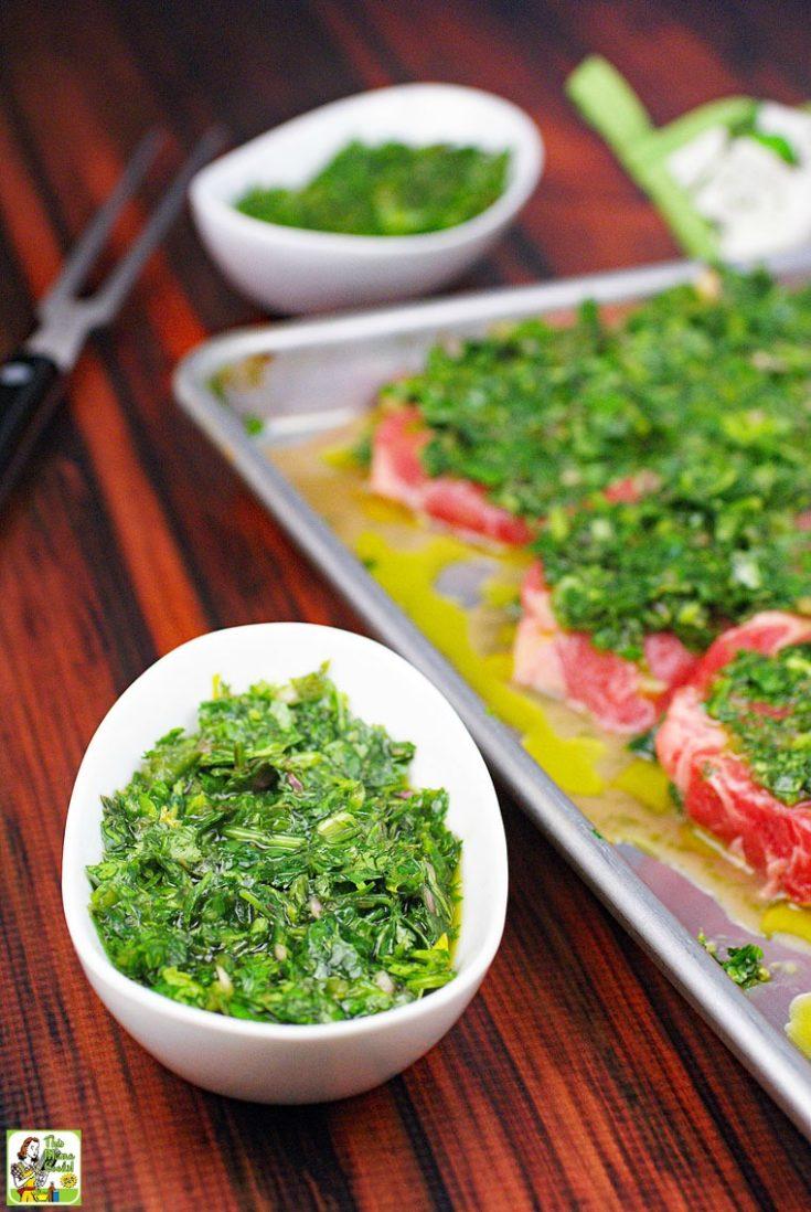 The Best Chimichurri Recipe: a Chimichurri Marinade & Steak Sauce Recipe