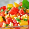 Watermelon and Cantaloupe Salad recipe