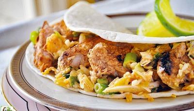 Easy Pork Tacos with Pineapple Slaw