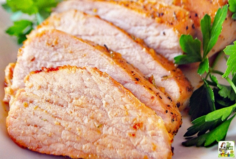 How to make a Fig Glazed Pork Tenderloin recipe