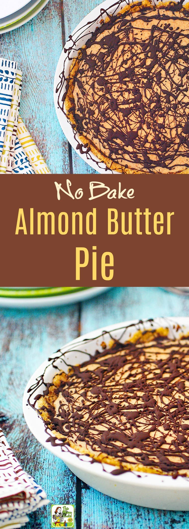 No Bake Almond Butter Pie Recipe