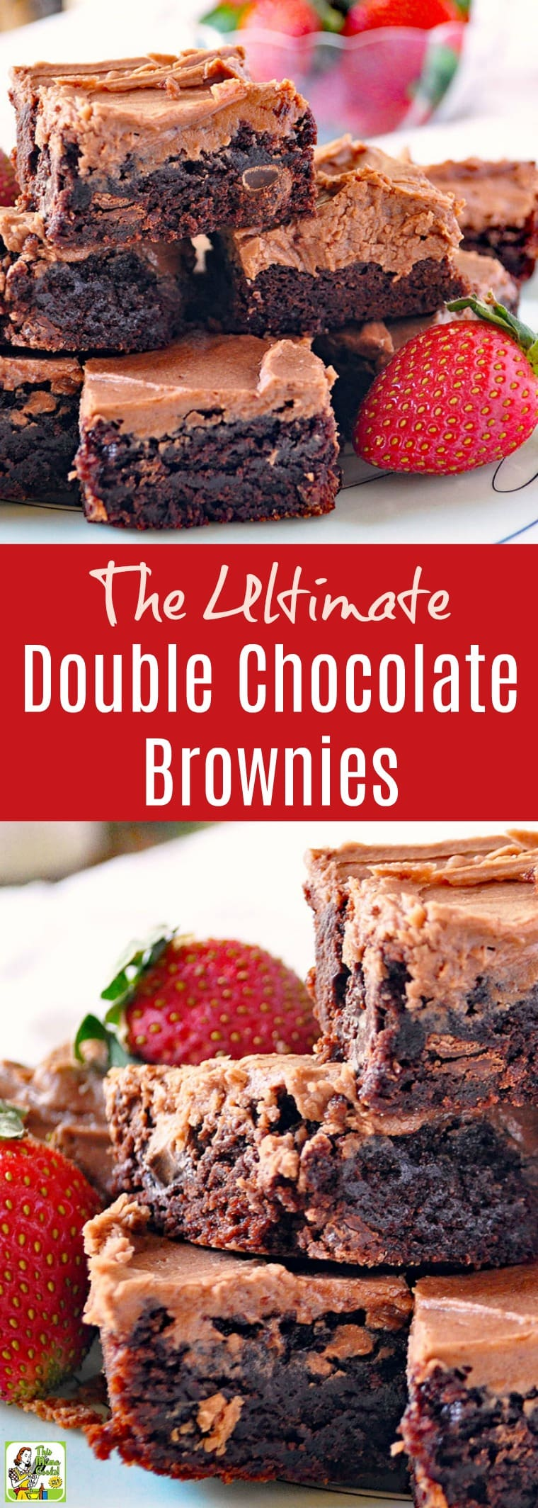The Ultimate Double Chocolate Brownies Recipe. Make these easy chocolate brownies recipe with your kids! Comes with tips for making this chocolate dessert recipe gluten free, dairy free, and nut free. #recipes #easy #recipeoftheday #glutenfree #easyrecipe #easyrecipes #glutenfreerecipes #snacks #desserts #dessertrecipes #dessertideas #baking #chocolate #brownies #kids #kidfriendly #dairyfree #nutfree #chocolate