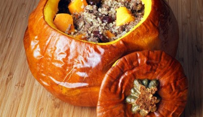Baked Stuffed Pumpkin recipe