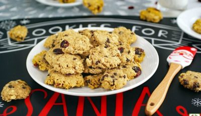 Easy Oatmeal Cookies recipe for Cookie Swaps