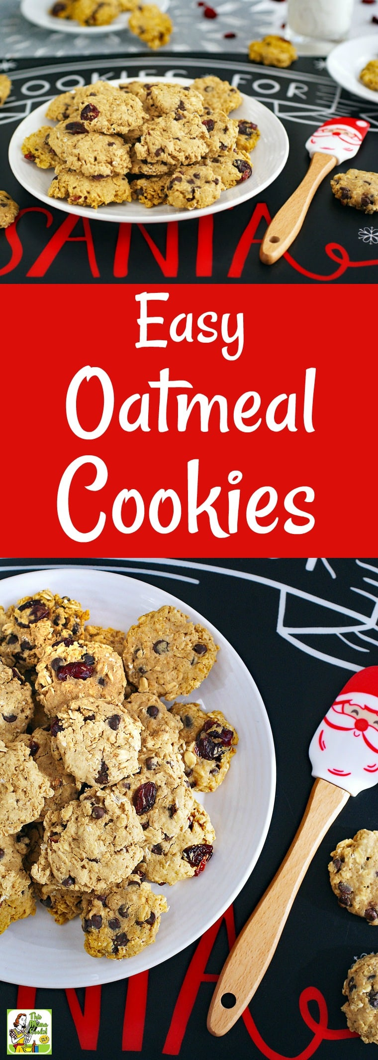 Easy Oatmeal Cookies for Cookie Swaps is the best oatmeal raisin cookie recipe for Christmas cookie exchanges and homemade holiday gifts. By adding ingredients like cranberries, chocolate chips or raisins, you can make a variety of gluten-free oatmeal cookies. These holiday cookie swap cookies are also dairy free. #glutenfree #dairyfree #cookies #homemadegifts #cookieswap #cookieexchange #baking #Christmas #recipe #easy #recipeoftheday #healthyrecipes #easyrecipes