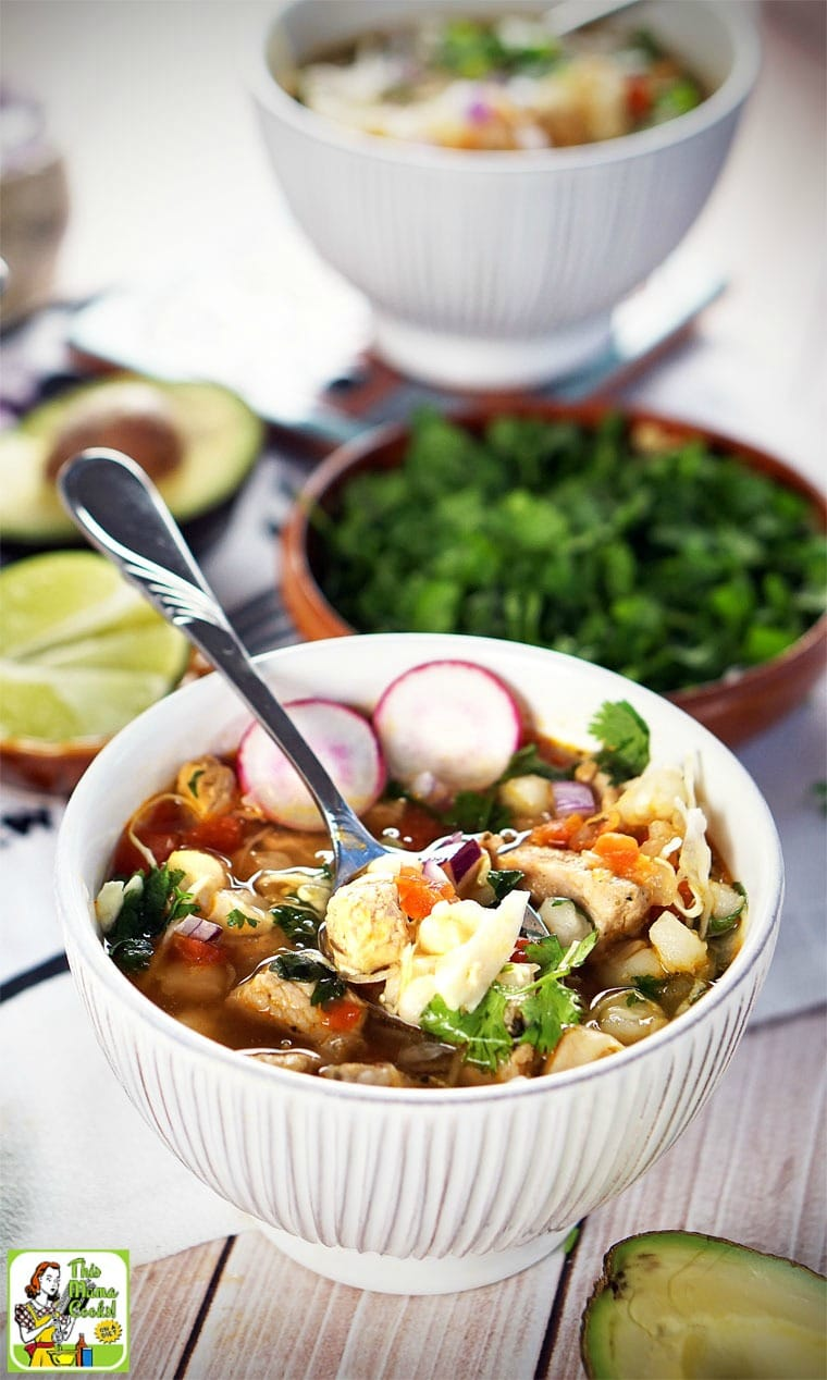 Pozole is hearty enough to be a meal on its own.