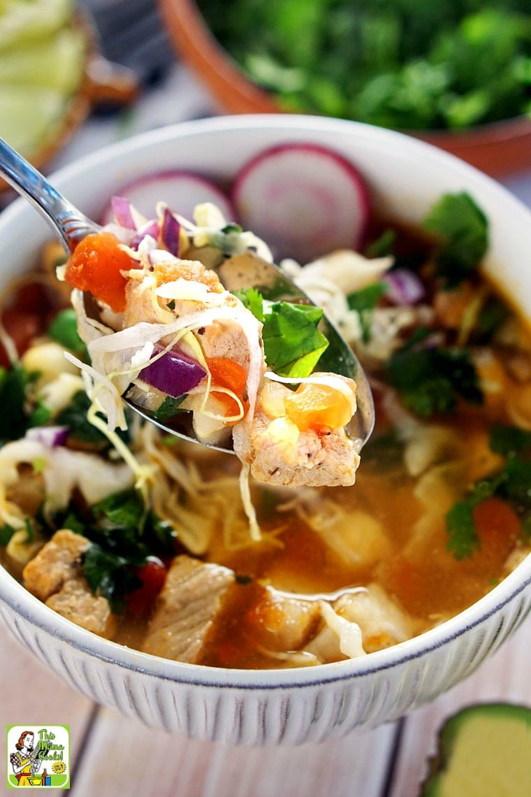 Learn how to make pozole under 30 minutes.
