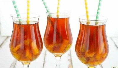 Looking for a refreshing low-calorie ice tea recipe? Try this Two Melon Iced Tea recipe.