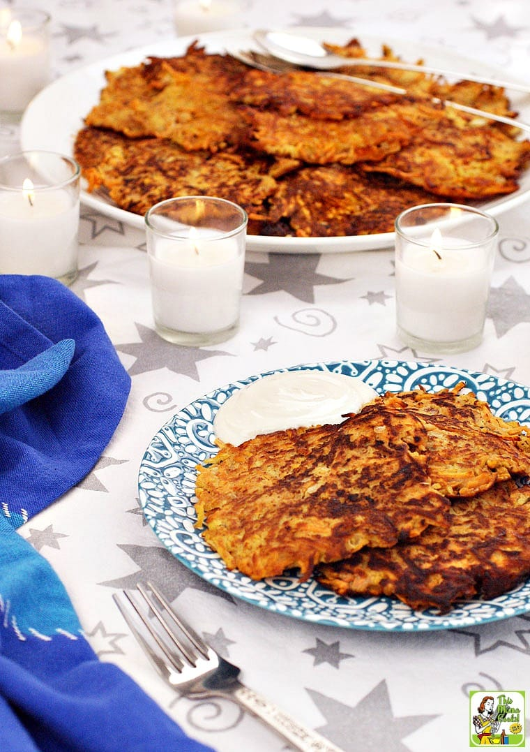 Sweet Potato Pancakes can be made for Pancake Day, Pancake Tuesday, Shrove Tuesday, or Mardi Gras.