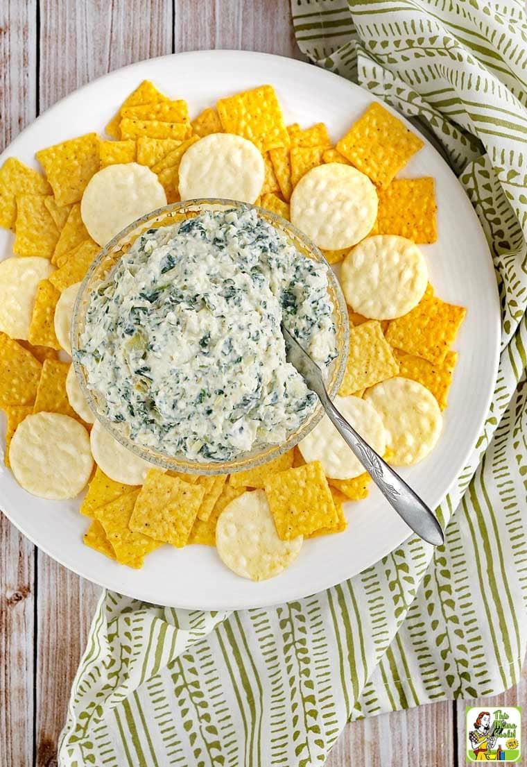 You'll love this spinach artichoke dip recipe!