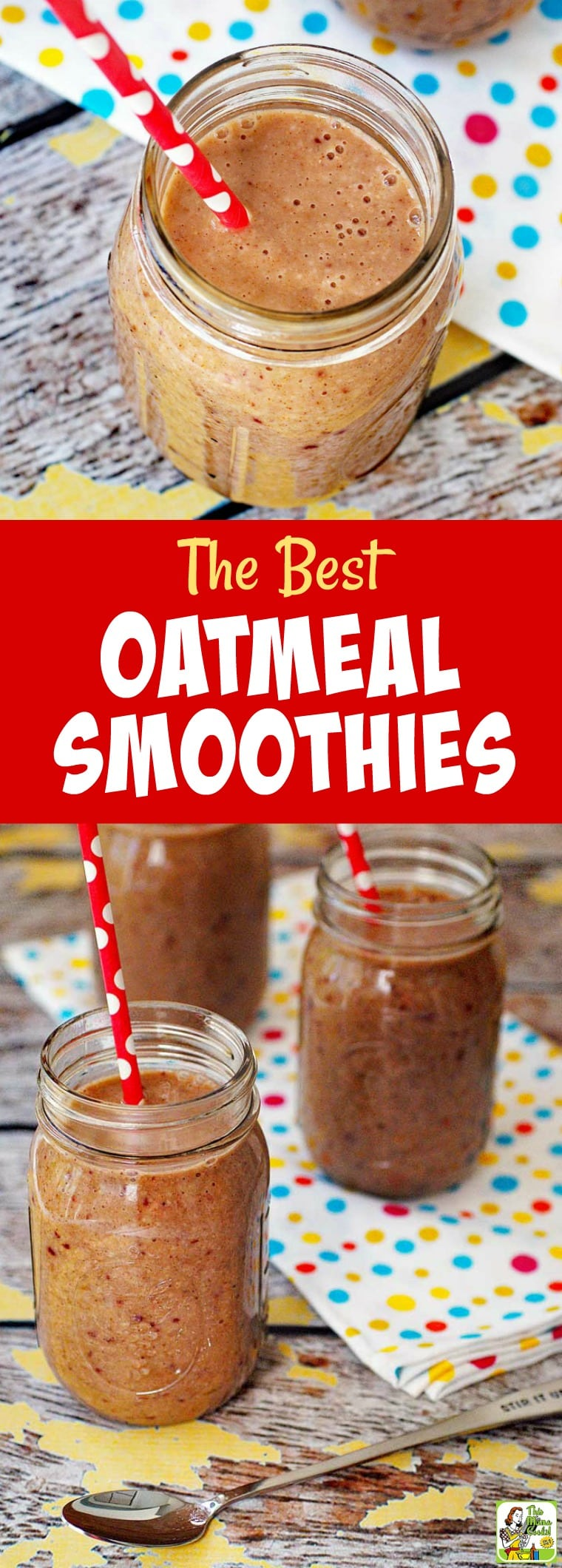 Do you love a fruit smoothies recipe for breakfast or an after workout snack? Then learn how to make the best oatmeal smoothies recipe. This is also a dairy free and gluten free smoothie recipe. #glutenfree #dairyfree #smoothies #smoothiesrecipes #healthydrinks #healthydrinksrecipe #oatmeal #bananas #strawberries #weightloss #breakfast #snacks #fruitsmoothies