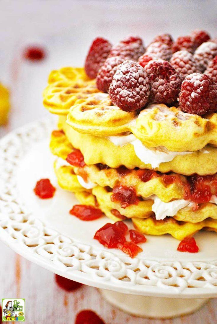 Gluten Free Waffle Cake Recipe
