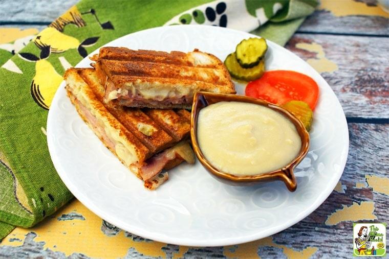 Easy Croque Monsieurs with Honey Bechamel Sauce