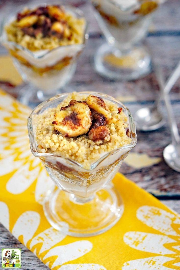 Fruit and Yogurt Parfait Recipe with Quinoa