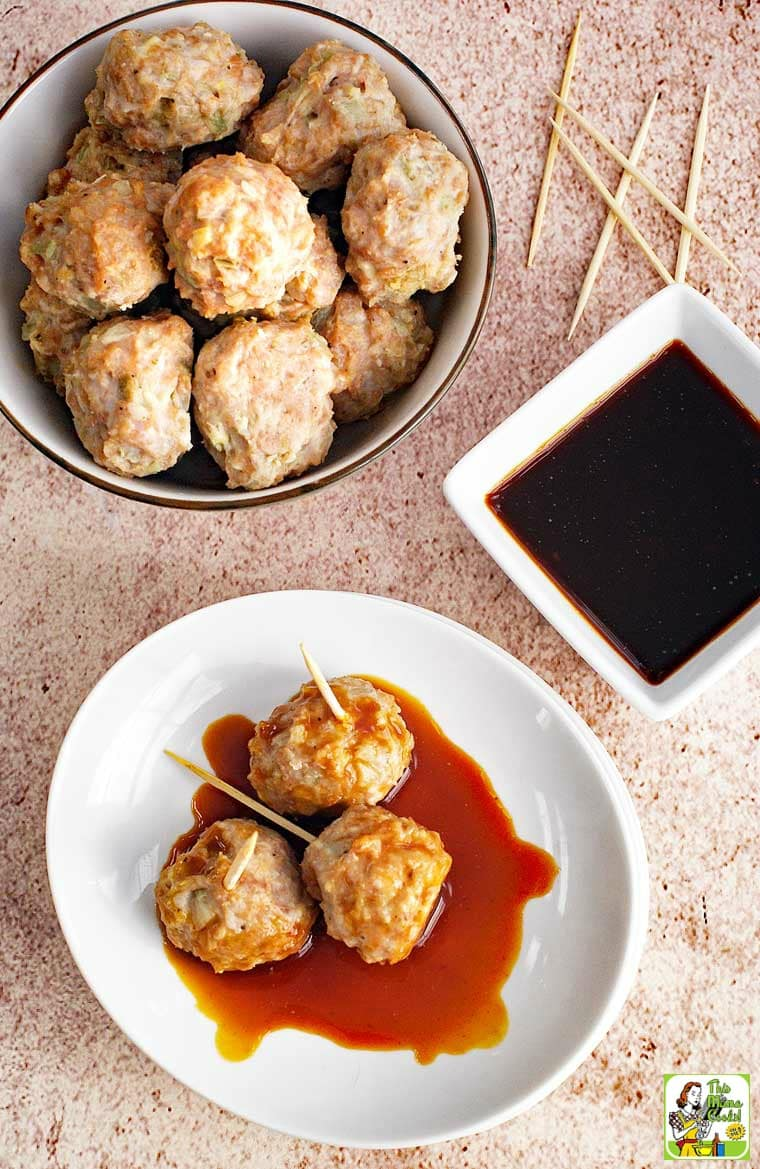 If you're looking for meatballs for kids, this recipe is fun to make and eat. This gluten free meatball recipe makes a delicious dinner when served on rice with a veggie stir-fry.