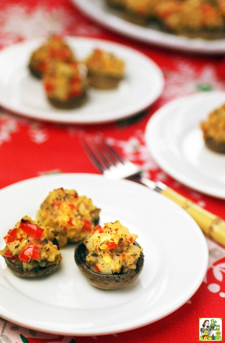 Your guests will be asking for seconds of these Crab Stuffed Mushrooms!