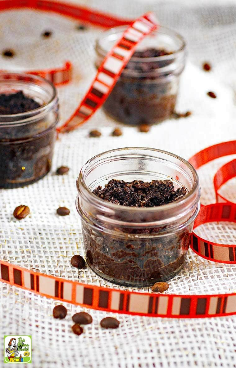 Looking for an inexpensive coffee scrub recipe to make into gifts for the holidays? Then you need to try this DIY Coffee Scrub!