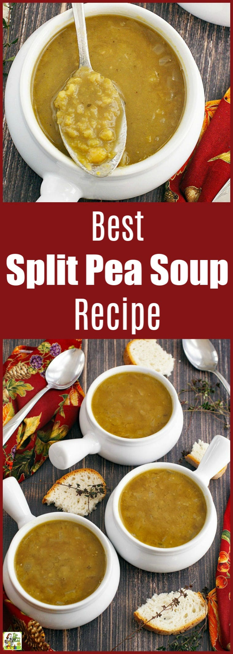 The Best Split Pea Soup recipe for busy weeknights