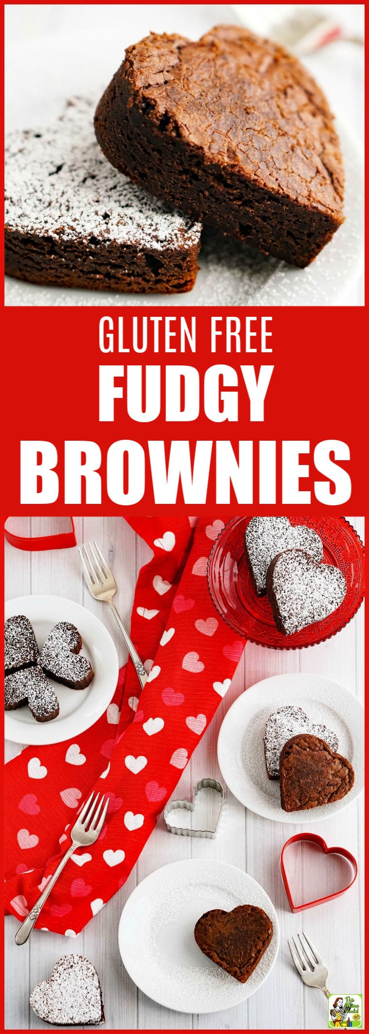 The Best Gluten Free Fudgy Brownies Ever