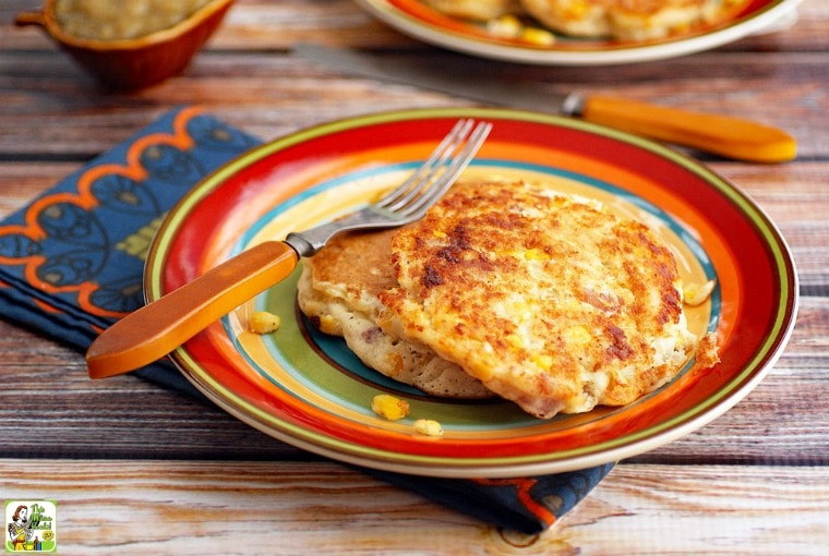 Corn Fritters - this corn fritter recipe is gluten free