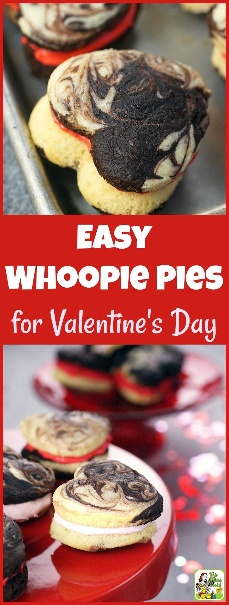 An Easy Whoopie Pies Recipe for Valentine's Day