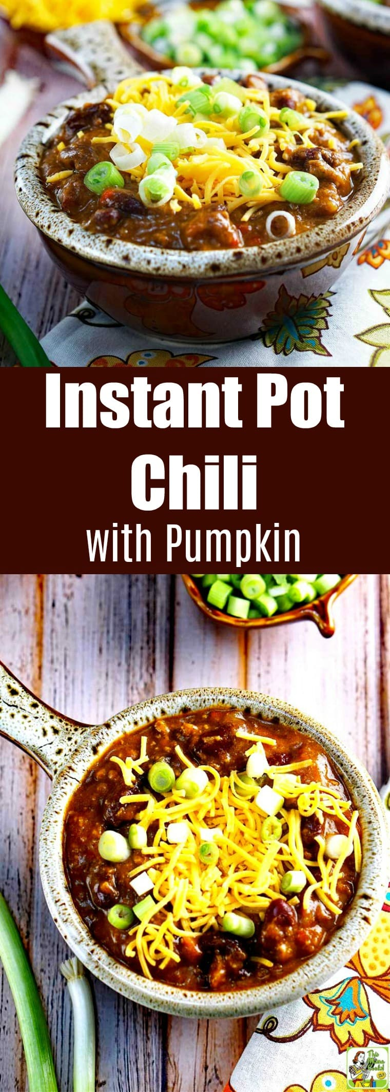 Instant Pot Chili with Pumpkin