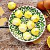 Lemon Flavored Meringue Cookies
