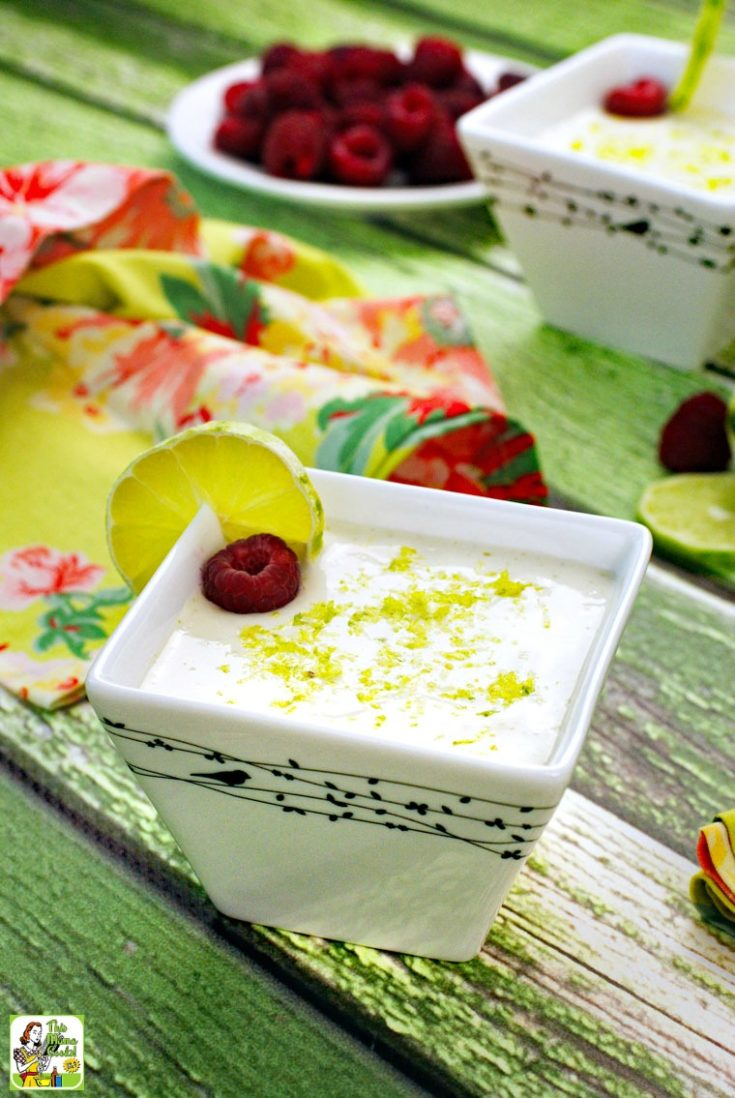Vegan Key Lime Mousse Recipe