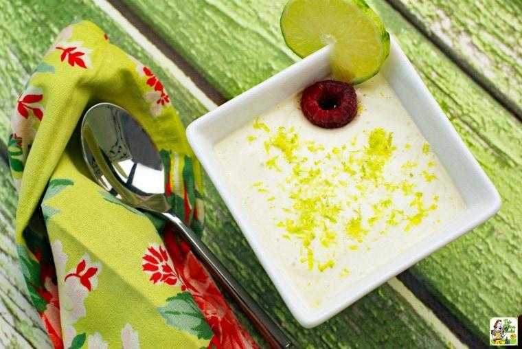 Vegan Key Lime Mousse