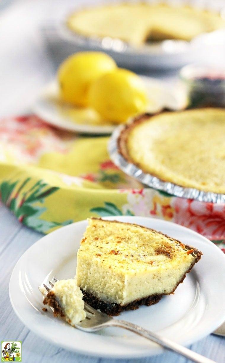 Easy Buttermilk Pie