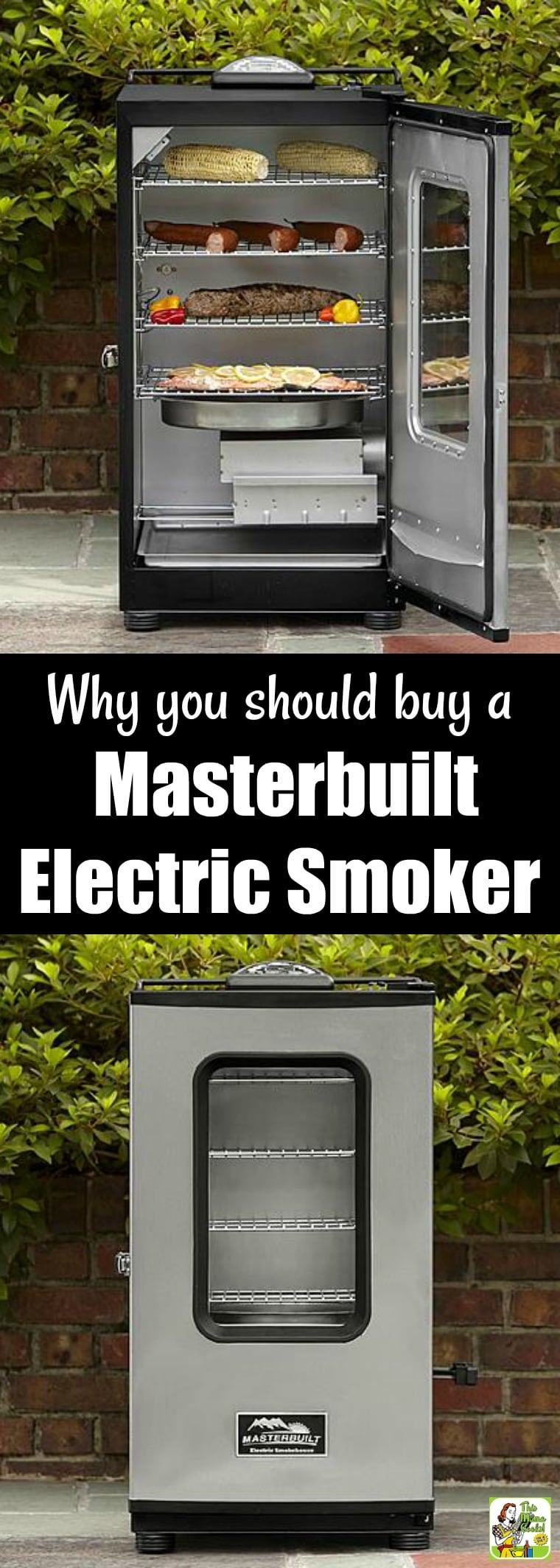 Why you should buy a Masterbuilt Electric Smoker. If you\'re looking the best electric smoker out there consider a Masterbuilt Electric Smoker. #grilling #grillrecipes #grillingrecipes #bbq #barbecue #grillingtips