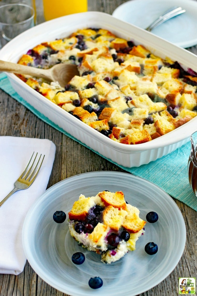 French toast casserole bake