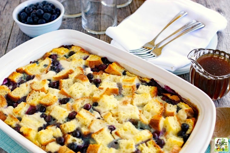 Blueberry French Toast Casserole Recipe