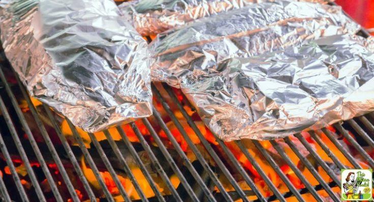 Grilled Salmon in Foil Recipe
