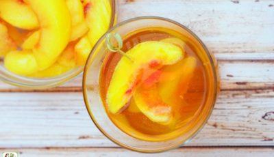 Peach Whiskey Cocktail