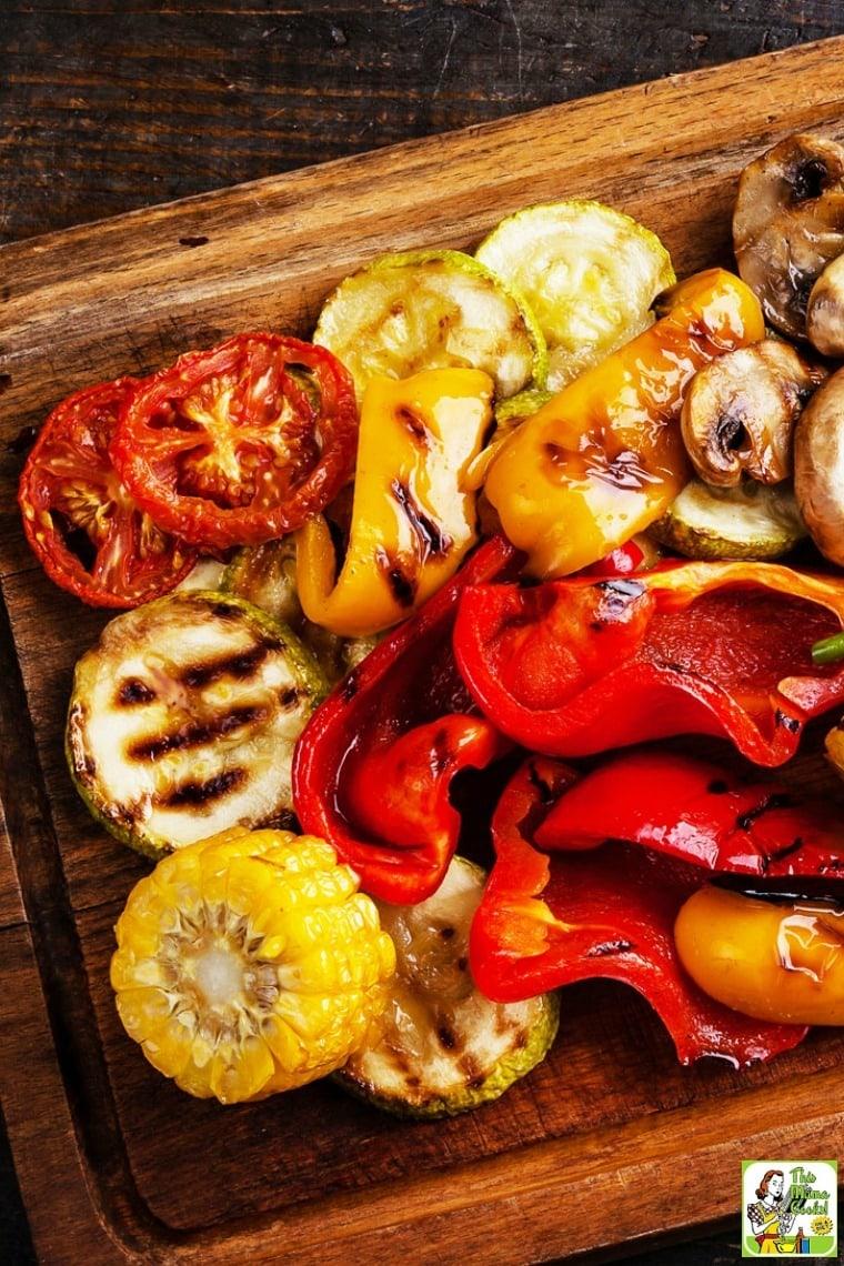 roasted grilled marinated vegetables