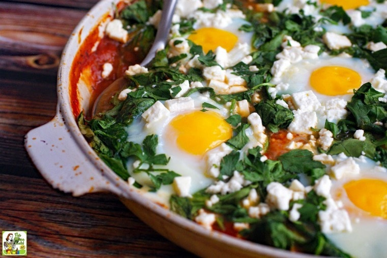 An easy shakshuka recipe