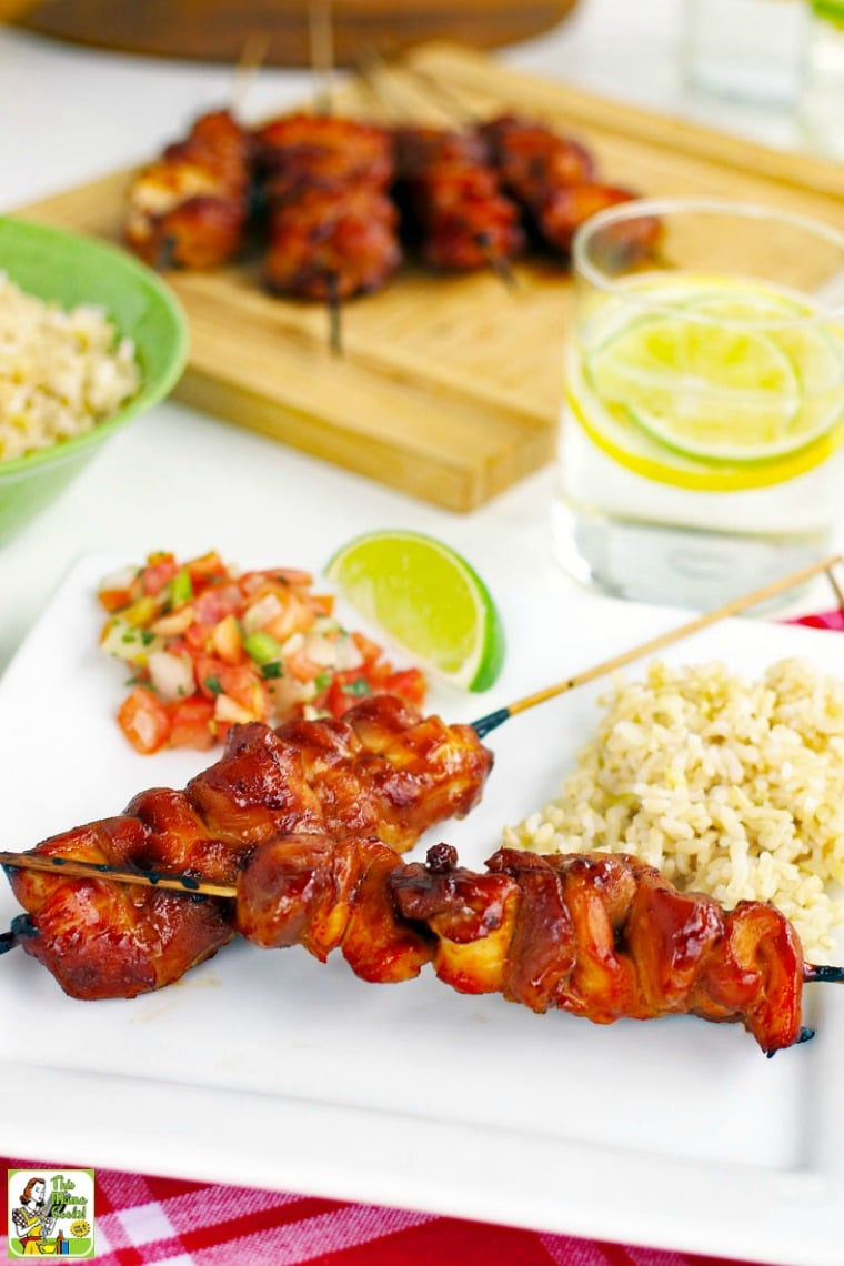 This chicken skewers recipe makes a terrific party appetizer.