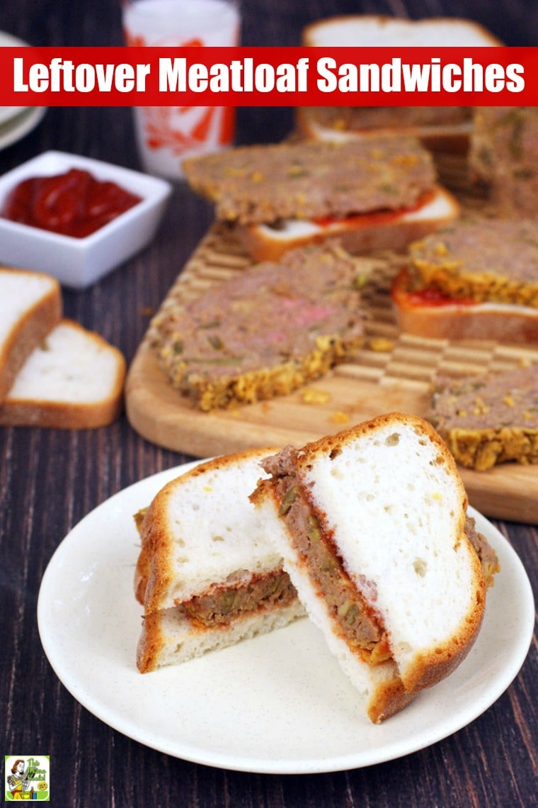 These Leftover Meatloaf Sandwiches made with gluten-free crackers and green beans are the best meatloaf sandwich recipe you'll ever try! #recipes #easy #recipeoftheday #glutenfree #easyrecipe #easyrecipes #glutenfreerecipes #dinner #easydinner #dinnerrecipes #dinnerideas #groundbeef #meatloaf #sandwiches